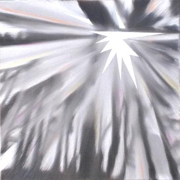Diamond, Oil on canvas, 12 x 12