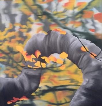 Kaleidoscope, Oil on canvas, 24 x 24