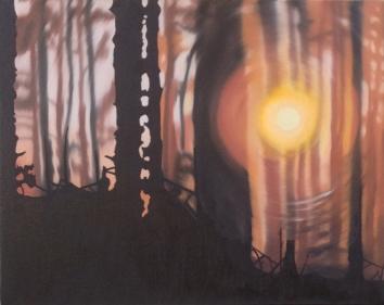 Last Goodbye, Oil on canvas, 16 x 20