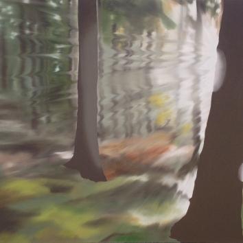 Naturalist, Oil on canvas, 36 x 48
