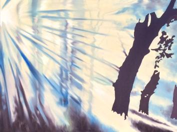 Transcendence, Oil on canvas, 36x48