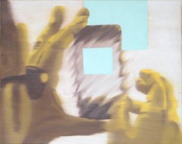 Fast Forward, Oil on canvas, 16 x 20