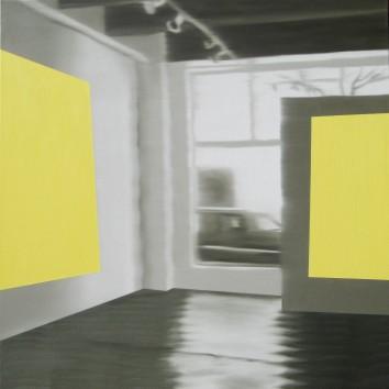 Sun Spots, Oil on canvas 36 x 36
